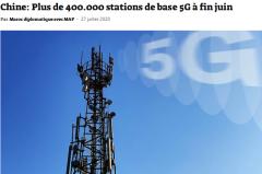 外媒:2020年中国5G腾飞发展 处于世界领先地位